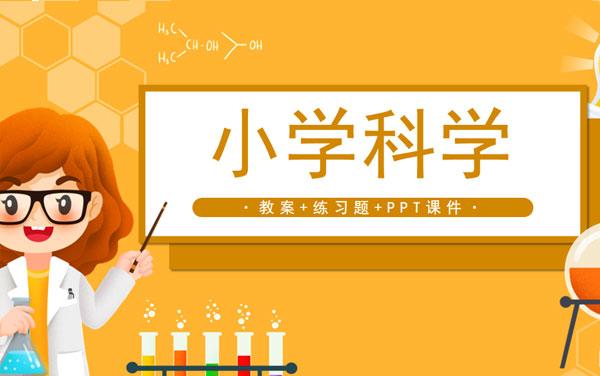 教科版小学科学四年级上册教案+课件+练习题(共98套打包)